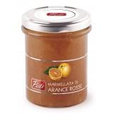 Pistì - Marmellata di Arance Rosse - Marmellate e Confetture di Sicilia - In Vasetto di Vetro Premium
