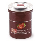 Pistì - Marmellata Extra di Fragole - Marmellate e Confetture di Sicilia - In Vasetto di Vetro Premium