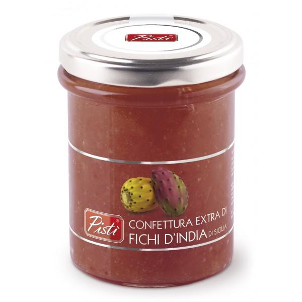 Pistì - Marmellata Extra di Fichi d'India - Marmellate e Confetture di Sicilia - In Vasetto di Vetro Premium
