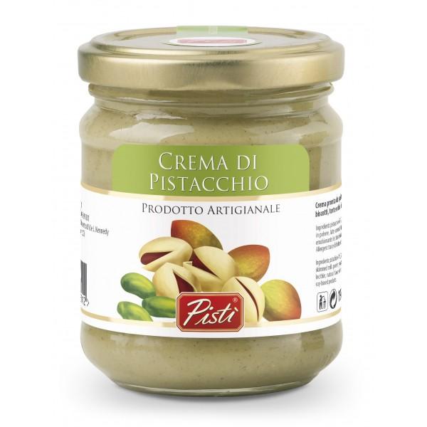 Pistì - Crema Spalmabile al Pistacchio - Bronte Sicilia - Crema Artigianale - In Vasetto di Vetro Basic