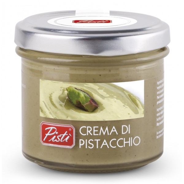 Pistì - Pistachio Cream Spread - Bronte Sicily - Artisan Cream - In Premium Glass Jar - 90 g