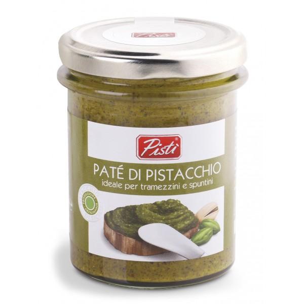 Pistì - Paté di Pistacchio Spalmabile - Bronte Sicilia - Patè Artigianale - In Vasetto di Vetro Premium
