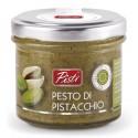 Pistì - Pesto di Pistacchio Spalmabile - Bronte Sicilia - Pesto Artigianale - In Vasetto di Vetro Basic - 90 g
