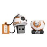 Tribe - BB-8 TLJ - Star Wars - The Last Jedi - USB Flash Drive Memory Stick 16 GB - Pendrive - Data Storage - Flash Drive