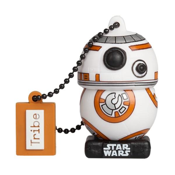 Tribe - BB-8 TLJ - Star Wars - L'Ultimo Jedi - Chiavetta di Memoria USB 16 GB - Pendrive - Archiviazione Dati - Flash Drive