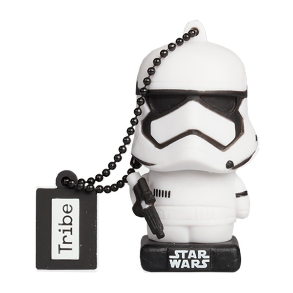 Tribe - Stormtrooper - Star Wars - The Last Jedi - USB Flash Drive Memory Stick 16 GB - Pendrive - Data Storage - Flash Drive