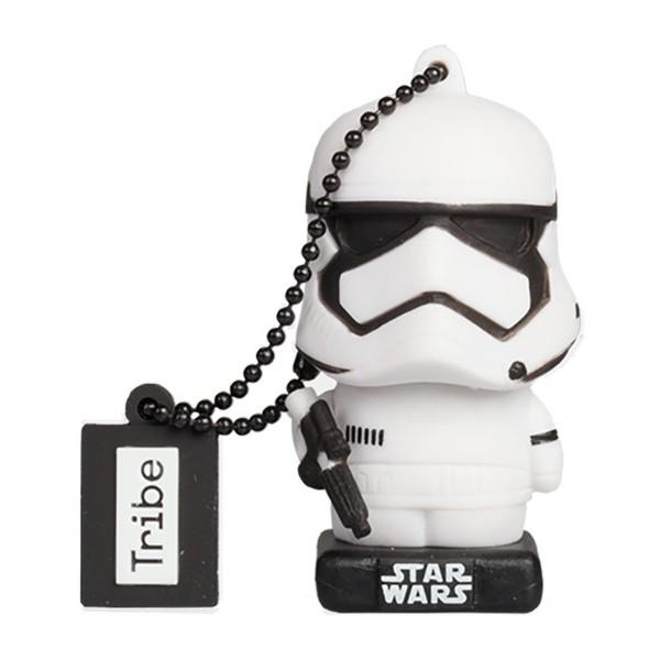 Tribe - Stormtrooper - Star Wars - L'Ultimo Jedi - Chiavetta di Memoria USB 16 GB - Pendrive - Archiviazione Dati - Flash Drive
