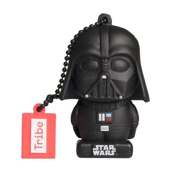 Tribe - Darth Vader - Star Wars - The Last Jedi - USB Flash Drive Memory Stick 16 GB - Pendrive - Data Storage - Flash Drive