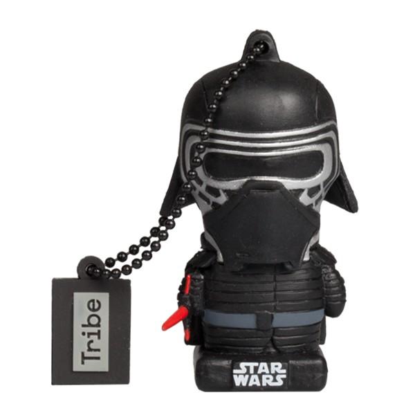 Tribe - Kylo Ren - Star Wars - L'Ultimo Jedi - Chiavetta di Memoria USB 16 GB - Pendrive - Archiviazione Dati - Flash Drive