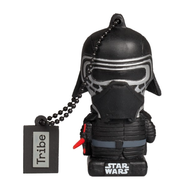 Tribe - Kylo Ren - Star Wars - The Last Jedi - USB Flash Drive Memory Stick 16 GB - Pendrive - Data Storage - Flash Drive