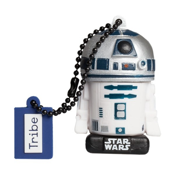Tribe - R2-D2 - Star Wars - L'Ultimo Jedi - Chiavetta di Memoria USB 16 GB - Pendrive - Archiviazione Dati - Flash Drive