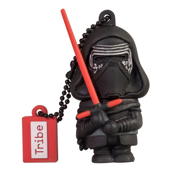Tribe - Kylo Ren - Star Wars - The Force Awakens - USB Flash Drive Memory Stick 16 GB - Pendrive - Data Storage - Flash Drive