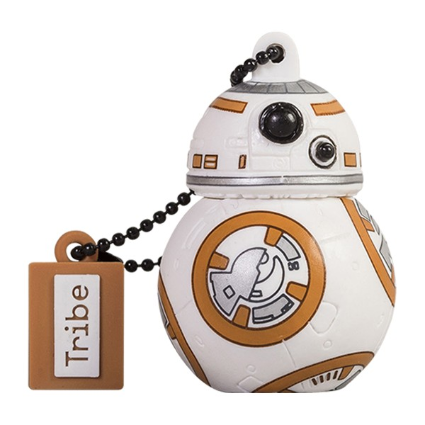 Tribe - BB-8 - Star Wars - The Force Awakens - USB Flash Drive Memory Stick 16 GB - Pendrive - Data Storage - Flash Drive