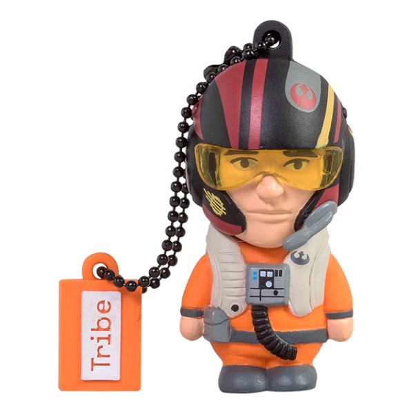 Tribe - Poe Dameron - Star Wars - The Force Awakens - USB Flash Drive Memory Stick 16 GB - Pendrive - Data Storage