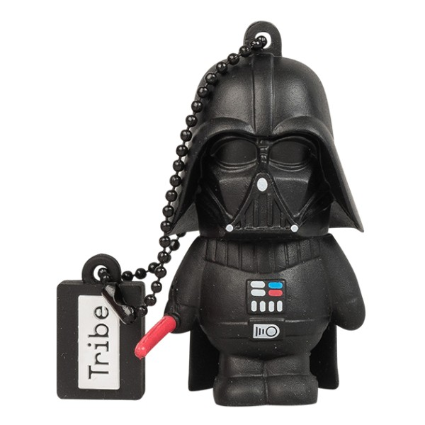 Tribe - Darth Vader - Star Wars - Chiavetta di Memoria USB 16 GB - Pendrive - Archiviazione Dati - Flash Drive