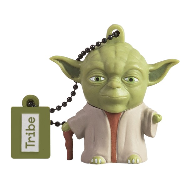 Tribe - Yoda the Wise - Star Wars - Chiavetta di Memoria USB 16 GB - Pendrive - Archiviazione Dati - Flash Drive