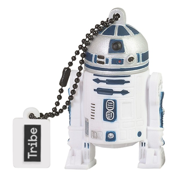 Tribe - R2-D2 - Star Wars - USB Flash Drive Memory Stick 16 GB - Pendrive - Data Storage - Flash Drive