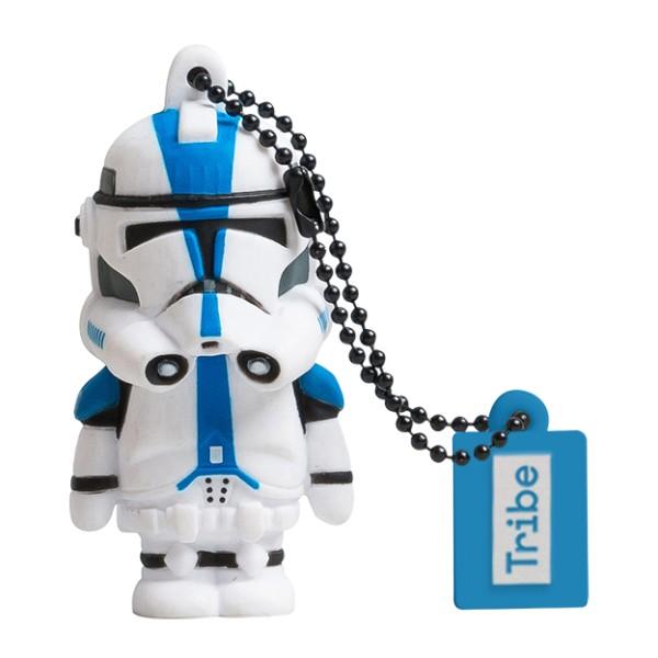 Tribe - 501st Clone Trooper - Star Wars - Chiavetta di Memoria USB 16 GB - Pendrive - Archiviazione Dati - Flash Drive