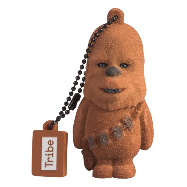 Tribe - Chewbacca - Star Wars - Chiavetta di Memoria USB 16 GB - Pendrive - Archiviazione Dati - Flash Drive
