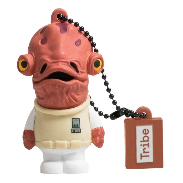 Tribe - Admiral Ackbar - Star Wars - USB Flash Drive Memory Stick 16 GB - Pendrive - Data Storage - Flash Drive