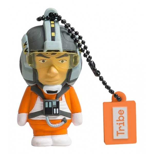 Tribe - X-Wing Pilot - Star Wars - Chiavetta di Memoria USB 16 GB - Pendrive - Archiviazione Dati - Flash Drive