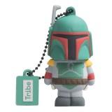 Tribe - Boba Fett - Star Wars - Chiavetta di Memoria USB 8 GB - Pendrive - Archiviazione Dati - Flash Drive