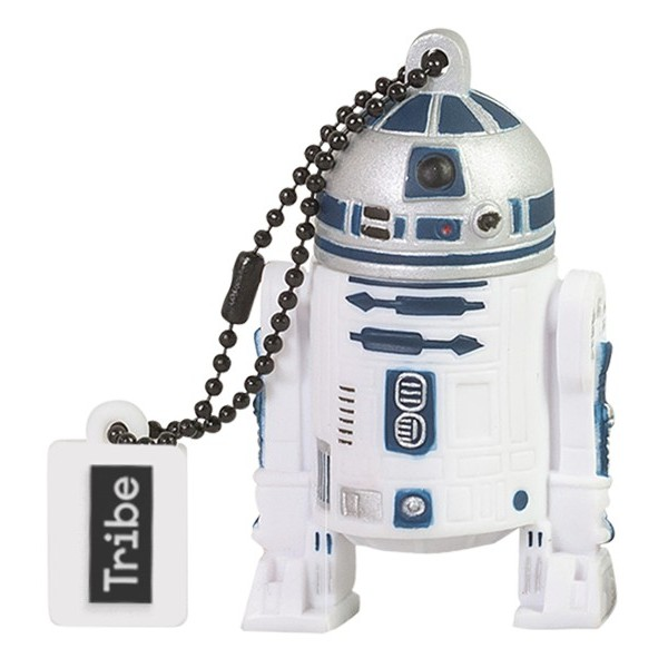 Tribe - R2-D2 - Star Wars - Chiavetta di Memoria USB 8 GB - Pendrive - Archiviazione Dati - Flash Drive