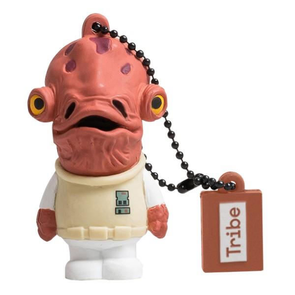 Tribe - Admiral Ackbar - Star Wars - Chiavetta di Memoria USB 8 GB - Pendrive - Archiviazione Dati - Flash Drive