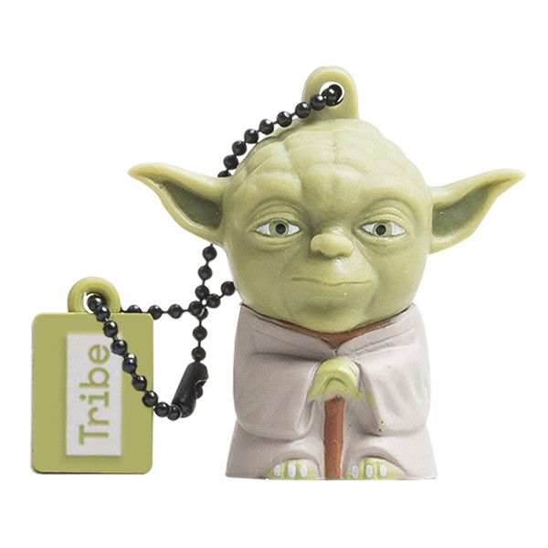 Tribe - Yoda - Star Wars - Chiavetta di Memoria USB 8 GB - Pendrive - Archiviazione Dati - Flash Drive