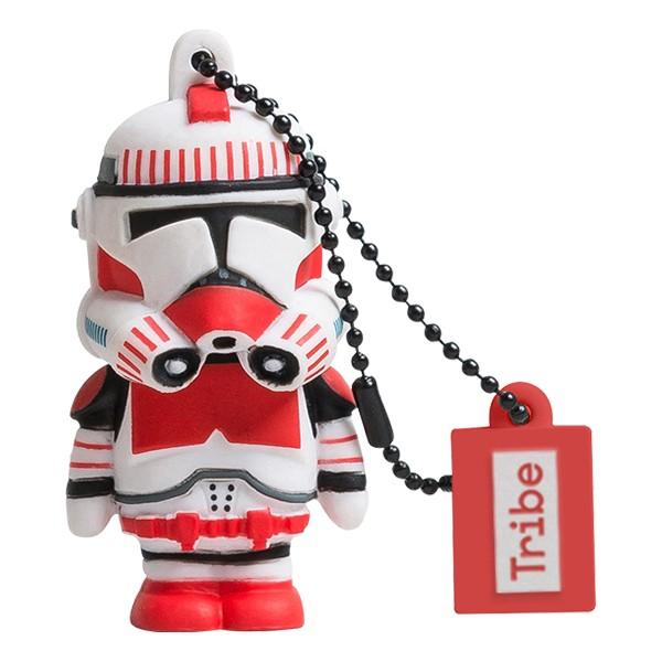Tribe - Shock Trooper - Star Wars - Chiavetta di Memoria USB 8 GB - Pendrive - Archiviazione Dati - Flash Drive