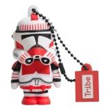 Tribe - Shock Trooper - Star Wars - Chiavetta di Memoria USB 8 GB - Pendrive - Archiviazione Dati - Flash Drive