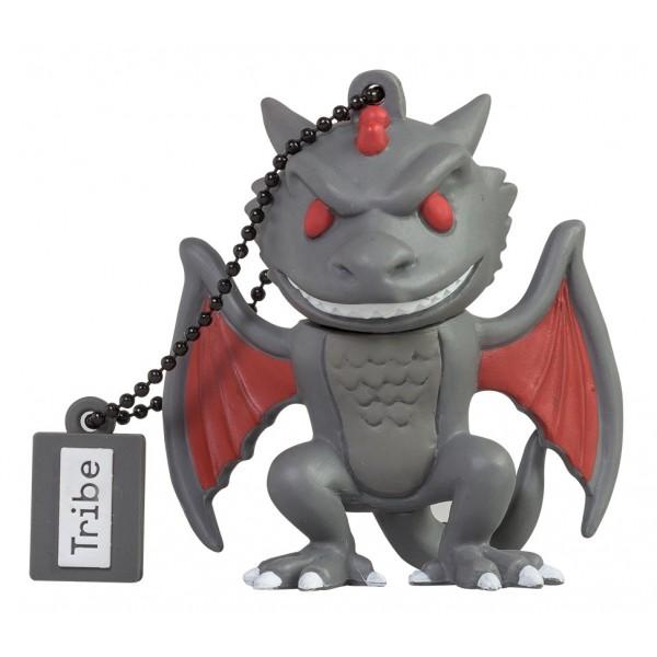 Tribe - Drogon - Trono di Spade - Chiavetta di Memoria USB 16 GB - Pendrive - Archiviazione Dati - Flash Drive