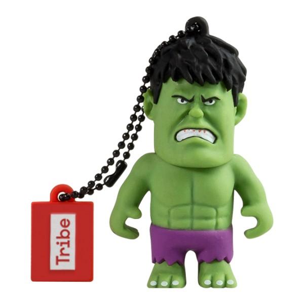 Tribe - Hulk - Marvel - Chiavetta di Memoria USB 16 GB - Pendrive - Archiviazione Dati - Flash Drive