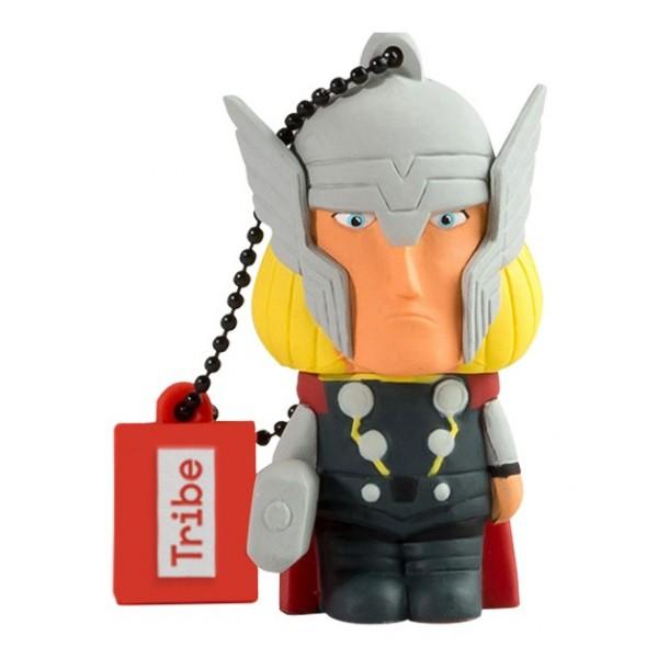 Tribe - Thor - Marvel - Chiavetta di Memoria USB 16 GB - Pendrive - Archiviazione Dati - Flash Drive