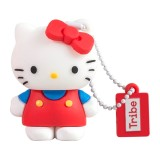 Tribe - Hello Kitty Classic - Hello Kitty - Chiavetta di Memoria USB 8 GB - Pendrive - Archiviazione Dati - Flash Drive