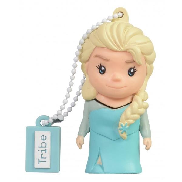 Tribe - Elsa - Frozen - Disney - Chiavetta di Memoria USB 8 GB - Pendrive - Archiviazione Dati - Flash Drive