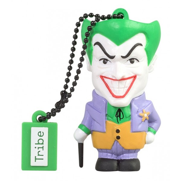 Tribe - Joker - DC Comics - Chiavetta di Memoria USB 16 GB - Pendrive - Archiviazione Dati - Flash Drive