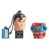 Tribe - Superman - DC Comics - Chiavetta di Memoria USB 16 GB - Pendrive - Archiviazione Dati - Flash Drive