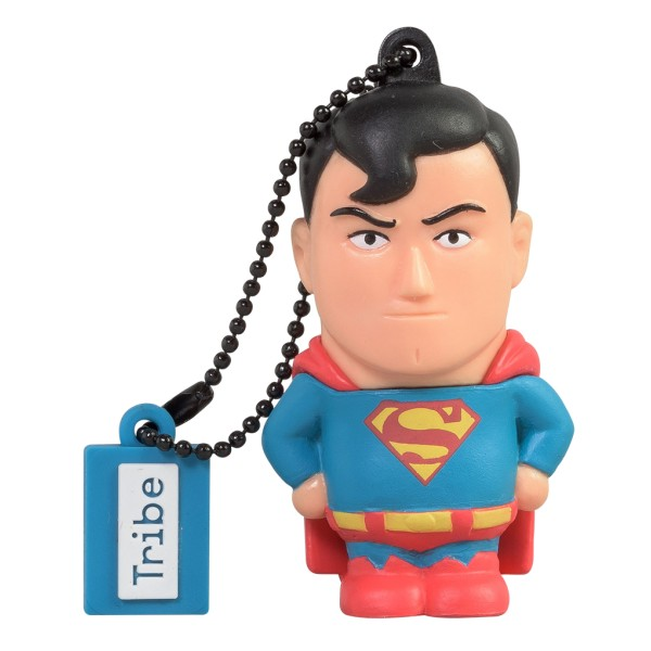 Tribe - Superman - DC Comics - Chiavetta di Memoria USB 16 GB - Pendrive - Archiviazione Dati - Flash Drive