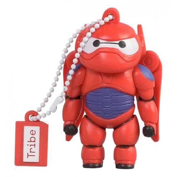 Tribe - Armored Baymax - Big Hero 6 - Pixar - Chiavetta di Memoria USB 16 GB - Pendrive - Archiviazione Dati - Flash Drive