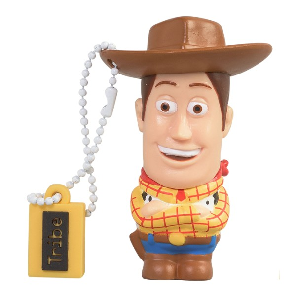 Tribe - Woody - Toy Story - Pixar - Chiavetta di Memoria USB 16 GB - Pendrive - Archiviazione Dati - Flash Drive