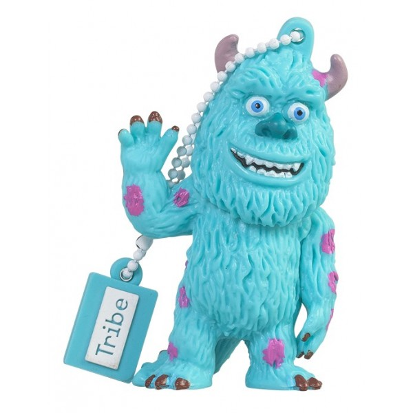 Tribe - James Sullivan - Monster&Co. - Pixar - Chiavetta di Memoria USB 16 GB - Pendrive - Archiviazione Dati - Flash Drive