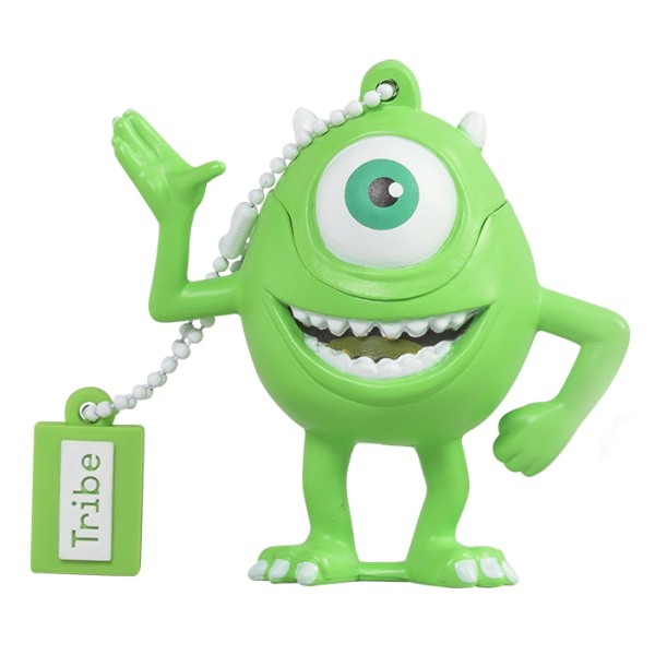 Tribe - Mike Wazowski - Monster&Co. - Pixar - Chiavetta di Memoria USB 16 GB - Pendrive - Archiviazione Dati - Flash Drive