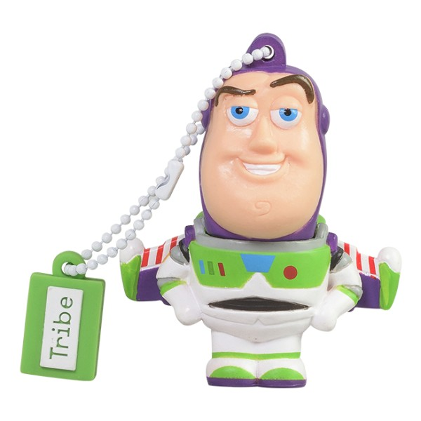Tribe - Buzz Lightyear - Toy Story - Pixar - Chiavetta di Memoria USB 8 GB - Pendrive - Archiviazione Dati - Flash Drive