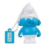 Tribe - Puffo Tontolone - I Puffi - Chiavetta di Memoria USB 8 GB - Pendrive - Archiviazione Dati - Flash Drive