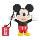 Tribe - Topolino - Disney - Chiavetta di Memoria USB 16 GB - Pendrive - Archiviazione Dati - Flash Drive