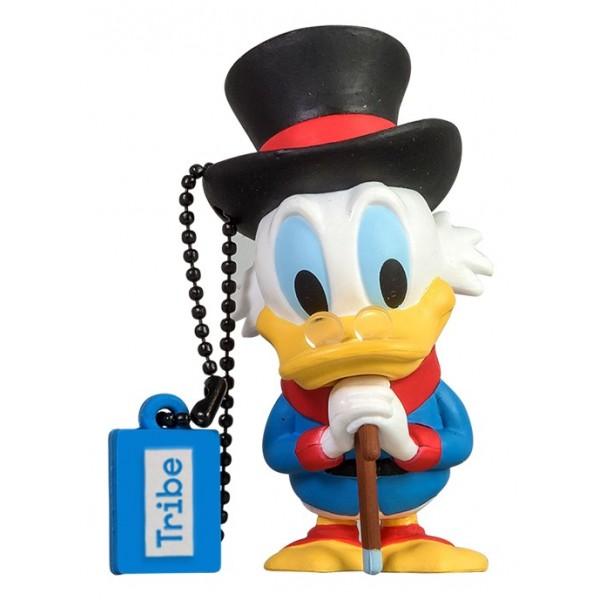 Tribe - Zio Paperone - Disney - Chiavetta di Memoria USB 16 GB - Pendrive - Archiviazione Dati - Flash Drive