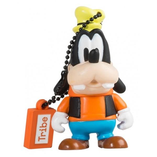 Tribe - Pippo - Disney - Chiavetta di Memoria USB 8 GB - Pendrive - Archiviazione Dati - Flash Drive