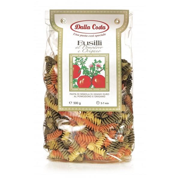 Dalla Costa - Fusilli Tricolor - Oregano and Tomato