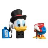 Tribe - Zio Paperone - Disney - Chiavetta di Memoria USB 8 GB - Pendrive - Archiviazione Dati - Flash Drive